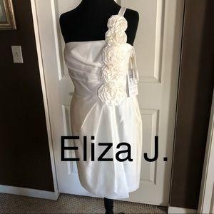 NWT  Eliza J size 12 special occasion dress